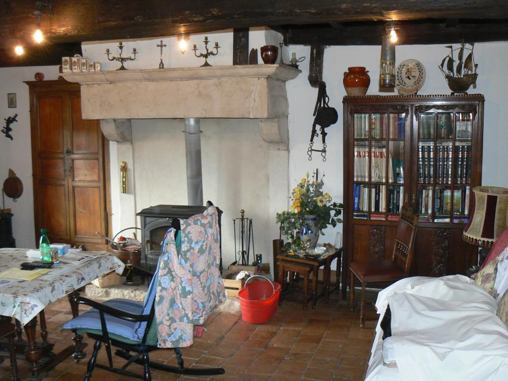 C t bourgogne agence immobili re achat vente immobilier en bourgogne du - Decoration de cheminee ancienne ...